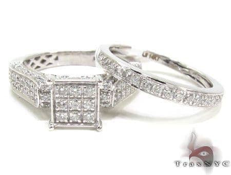 Lady Trax Ring Set Engagement