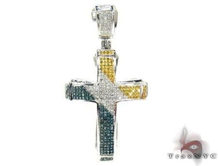 Small Tri Color Aristocrat Cross 2 Diamond