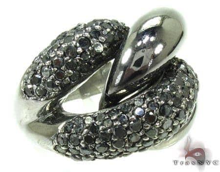 Black Diamond Ring 19860 Anniversary/Fashion