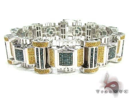 Mens Diamond Bracelet 19926 Diamond