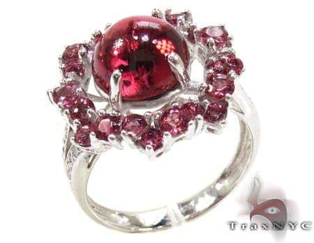 Ladies Silver Tourmaline Ring 19966 Anniversary/Fashion