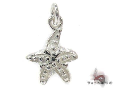 Sterling Silver Star Pendant Metal