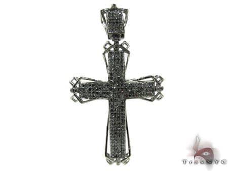 Mens Black Diamond Cross 20520 Diamond