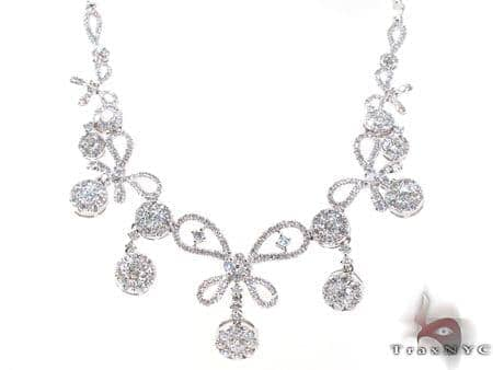 Ladies Diamond Necklace 20545 Diamond