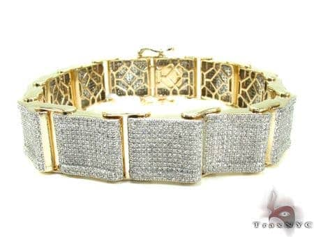 Mens Diamond Bracelet 20554 Diamond