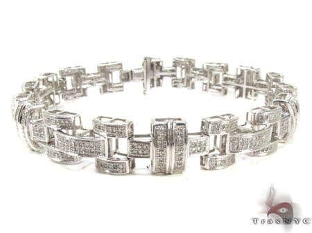Mens Diamond Bracelet 20822 Diamond