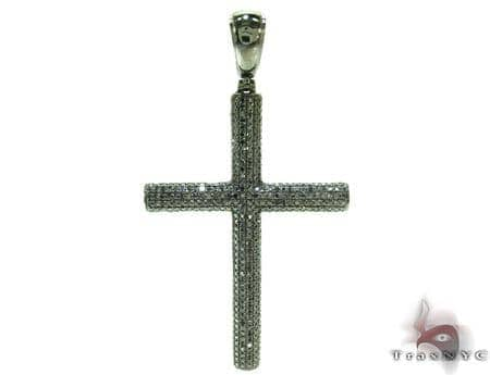 Mens Black Diamond Cross 21174 Diamond