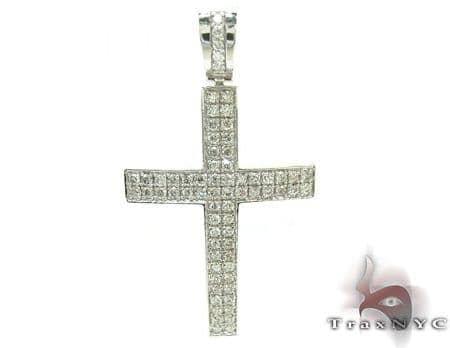 Mens Diamond Cross 21229 Diamond