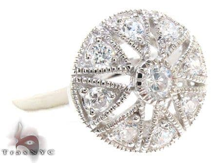 Vintage CZ Ring 21311 Anniversary/Fashion