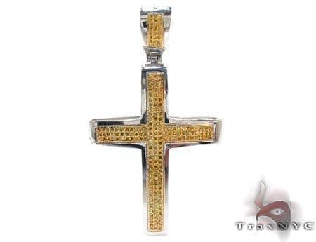 Canary Silver Junior Cross Silver