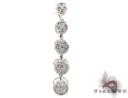 Ladies Prong Diamond Pendant 21517 Stone