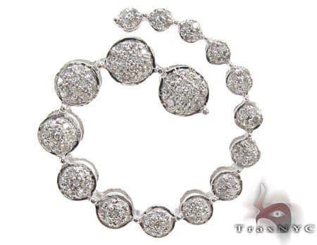 Ladies Prong Diamond Pendant 21521 Stone