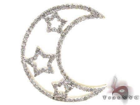 Ladies Prong Diamond Pendant 21525 Stone
