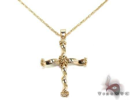 Ladies Cross Pendant 21546 Metal