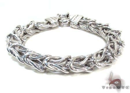 Ladies Silver Bracelet 21827 Silver & Stainless Steel