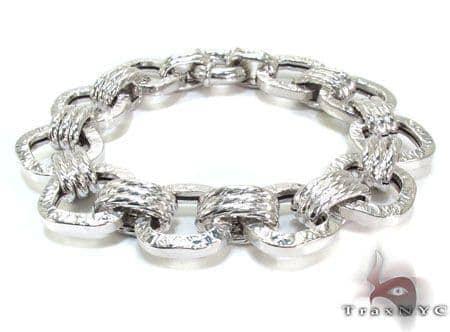 Ladies Silver Bracelet 21829 Silver & Stainless Steel