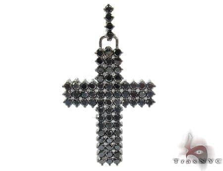 Mens Black Diamond Cross 21882 Diamond