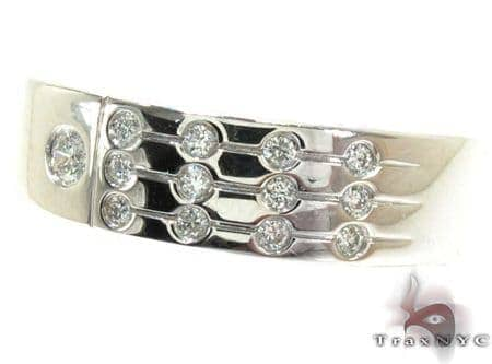 Mens Bezel Diamond Ring 22018 Stone