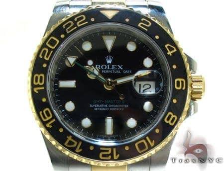 Rolex GMT-Master II Steel and Yellow Gold 116713LN
