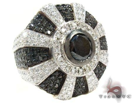 White Gold Diamond Fashion Ring Anniversary/Fashion