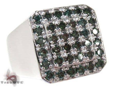 Trax NYC Haevy Blue Color Diamond Ring Stone