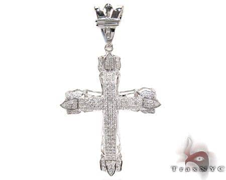 Pave Eternity Cross Diamond
