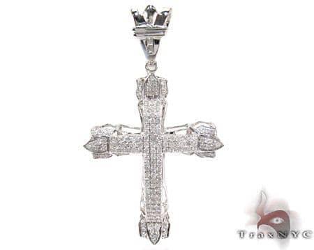 Pave Eternity Cross Diamond