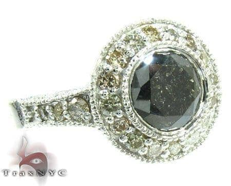 Silver Diamante Perfection Ring Anniversary/Fashion
