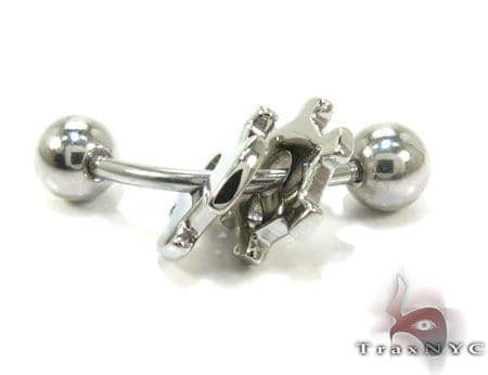 Baraka Stainless Steel Piercing PG50113 Stainless Steel Earrings