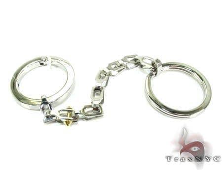 Baraka BK-UP Stainless Steel Key Chain PO50106 Metal
