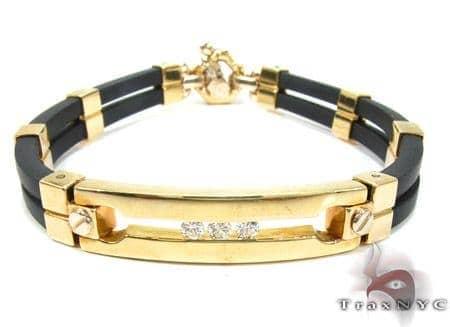 Baraka Yellow Gold Diamond Bracelet BR21009 Diamond