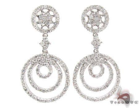 Big Bang Diamond Chandelier Earrings Style