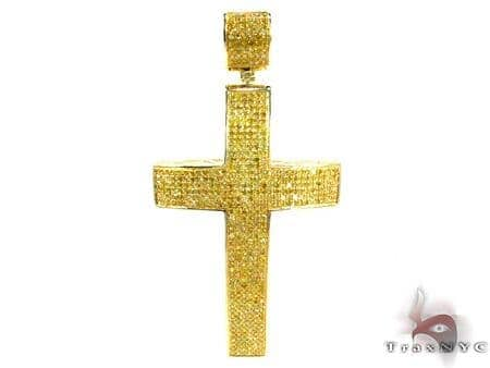 Canary Color Passion Diamond Cross メンズ ダイヤモンド クロス