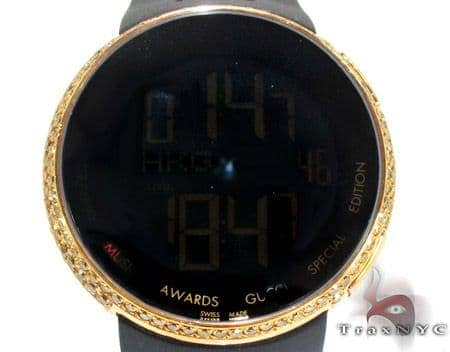 Canary Color Diamond Bezel Grammy Awards Special Edition Gucci Watch Gucci