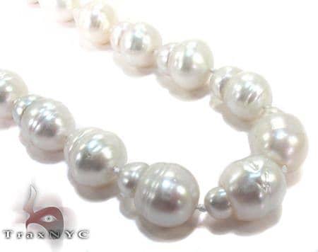 Sea Salt White Pearl Ladies Necklace Pearl