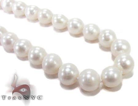White Pearl Ladies Nacklace 27359 Pearl