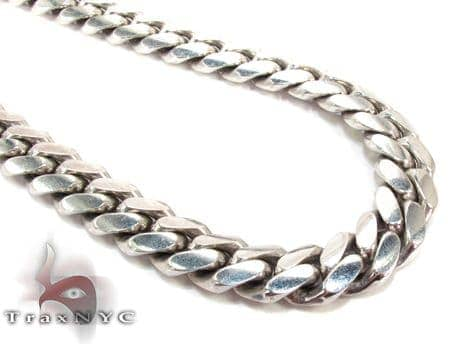 Miami 10K Gold Chain 26 Inches, 10mm, 185.1 Grams Gold