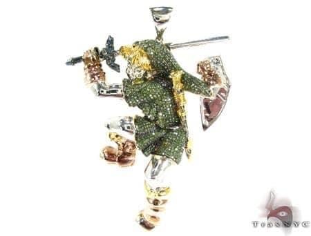 Custom Jewelry - Zelda Link Pendant 2 Metal