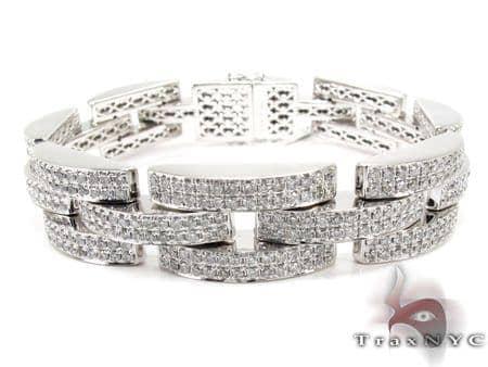 Fence Bracelet Diamond