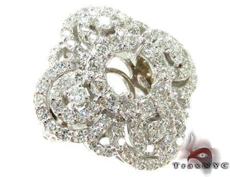 Venetian Diamond Semi Mount Ring Engagement