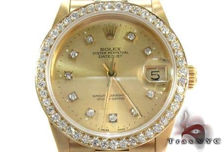 Rolex Datejust President Yellow Gold 178278