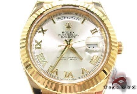 Rolex Day-Date II Yellow Gold 218238