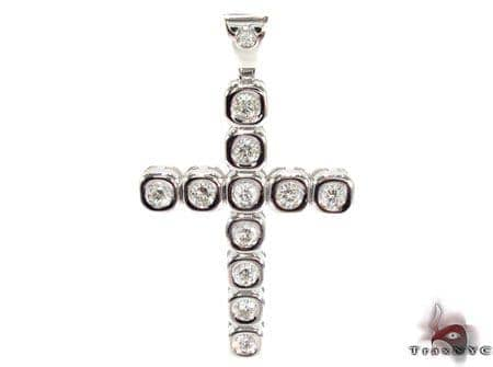 Bezel Cross Diamond