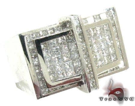 Invisible Diamond Ring 28126 Stone
