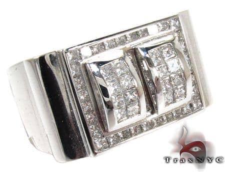 Invisible Diamond Ring 28127 Stone