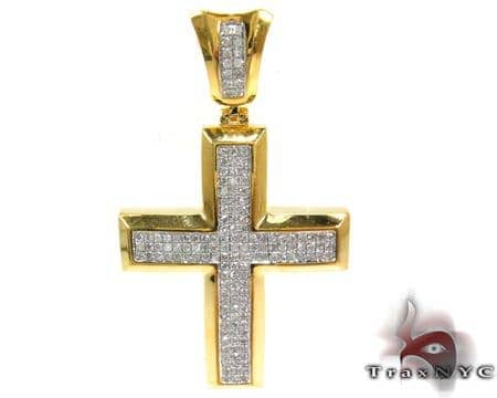Silver Diamond Cross 28139 Silver