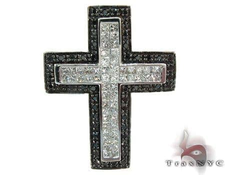 Two Color Diamond Cross 28266 Diamond