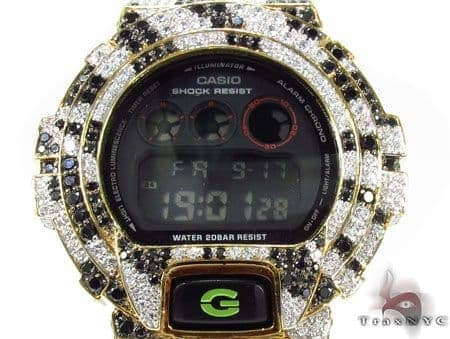 G-Shock Classic Watch DW6900SN-1 with Zebra Pattern Case G-Shock
