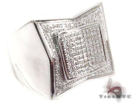 Prong Diamond Ring 28829 Metal