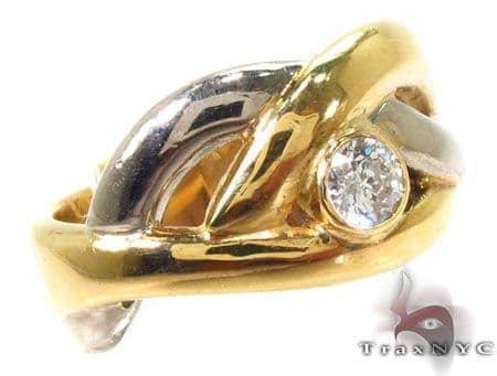 Bezel Diamond Ring 28849 Stone